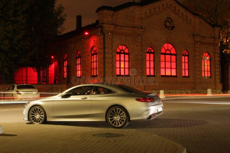莫斯科市汽车 图库摄影