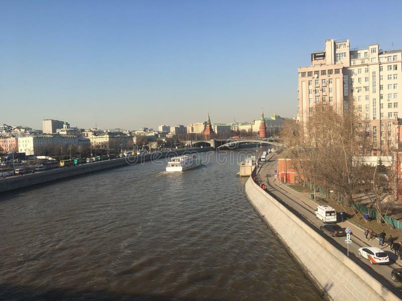 莫斯科河 图库摄影