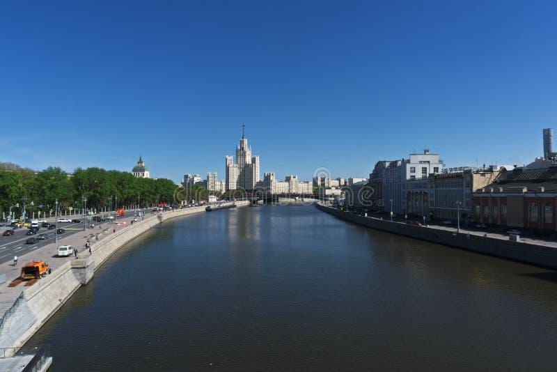莫斯科河 免版税图库摄影