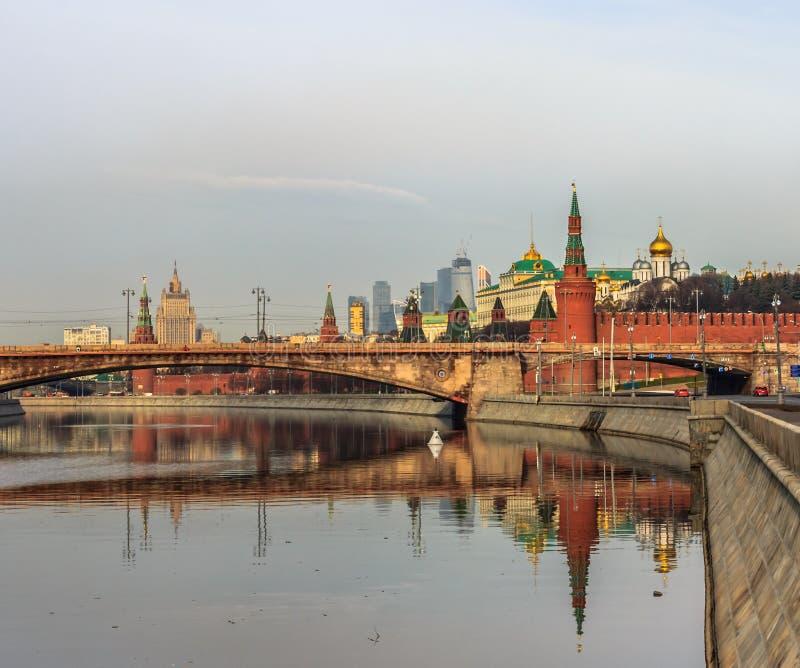 莫斯科视域  免版税库存照片