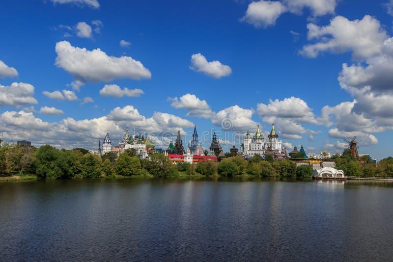 莫斯科视域  免版税库存图片