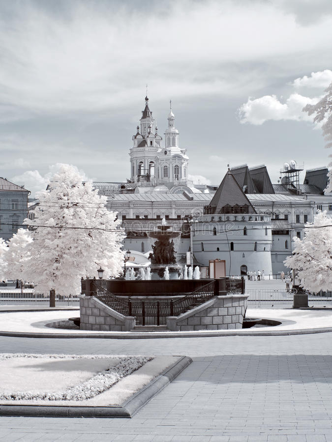 莫斯科都市视图 图库摄影