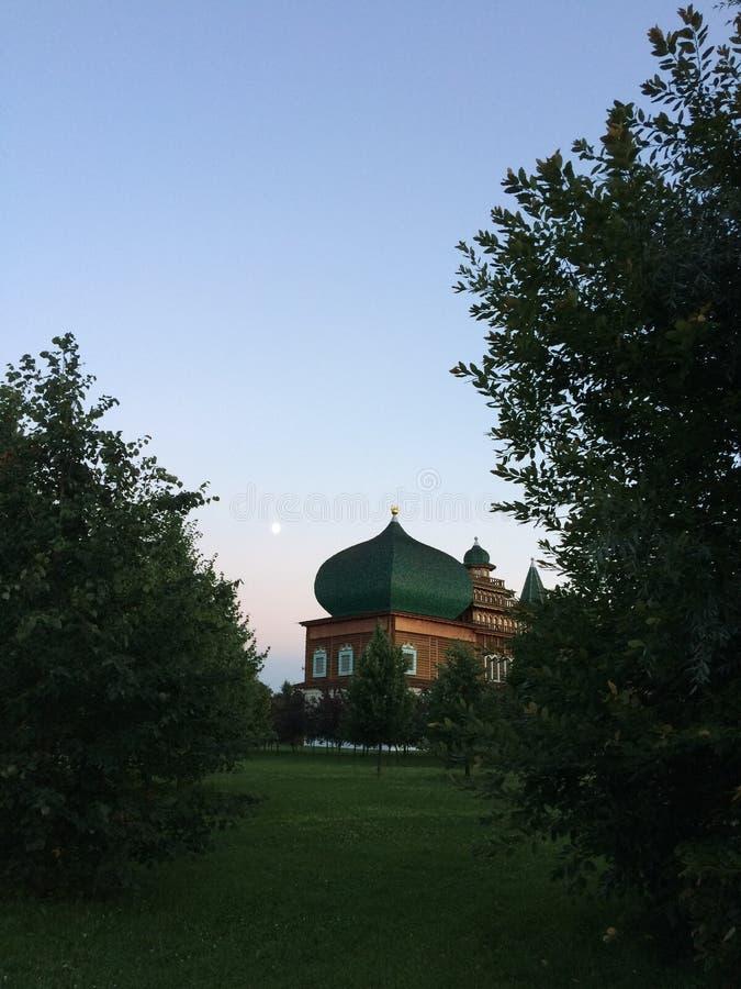 莫斯科,博物馆储备Kolomenskoe 库存图片