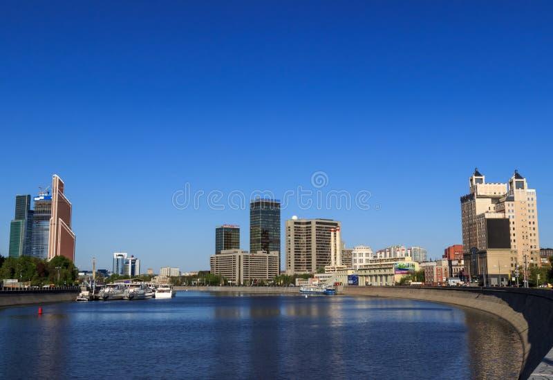 莫斯科,都市风景 库存图片
