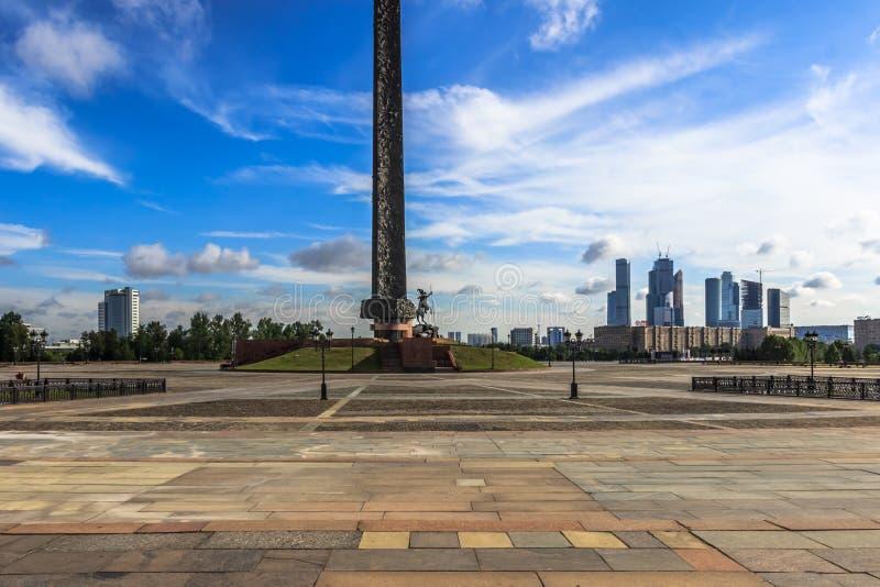 莫斯科,都市风景 免版税库存图片