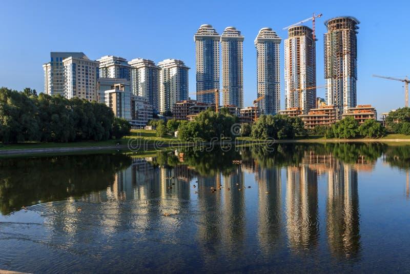 莫斯科,都市风景 免版税库存照片