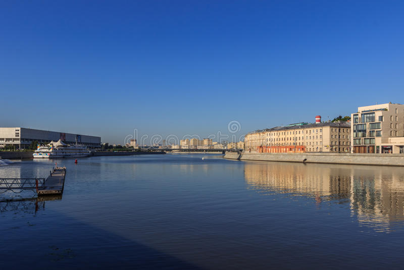 莫斯科,都市风景 图库摄影