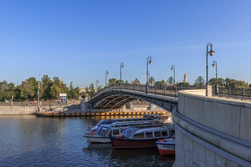 莫斯科,都市风景 库存照片