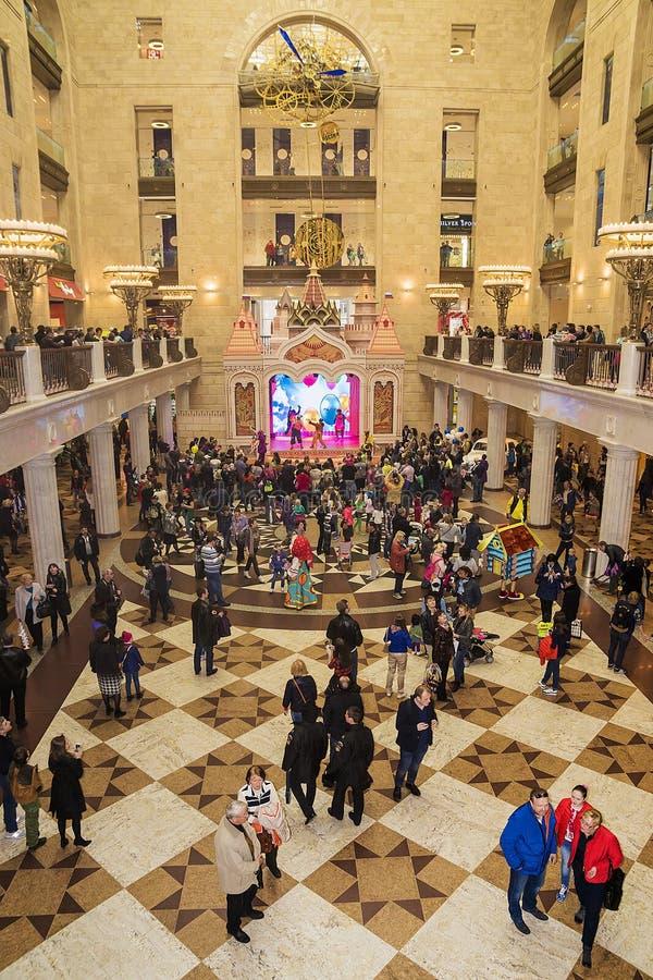 莫斯科, RUSSIA-APRIL 12 :内部 库存图片