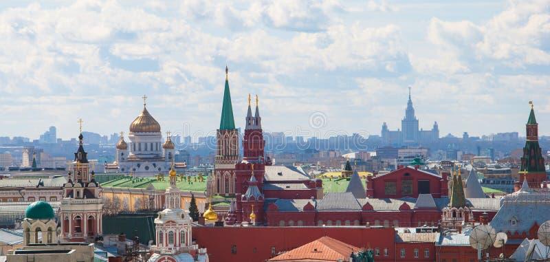莫斯科 在视图之上 库存图片