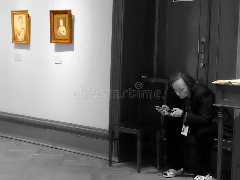 莫斯科 特列季尤欣画廊 图库摄影
