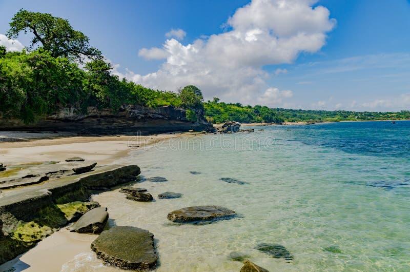 莫桑比克海滩 免版税图库摄影