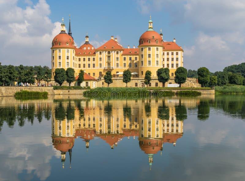 莫里茨堡城堡,德累斯顿地区 ?? 免版税库存照片