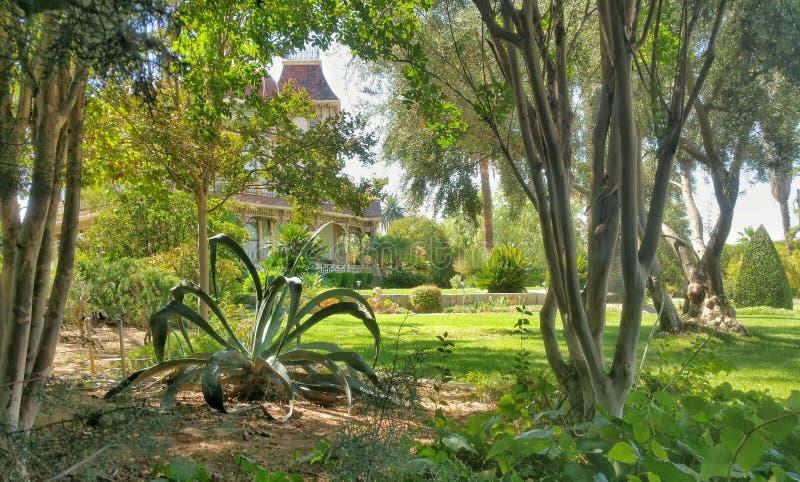 莫雷豪宅- Redlands,加利福尼亚 库存照片