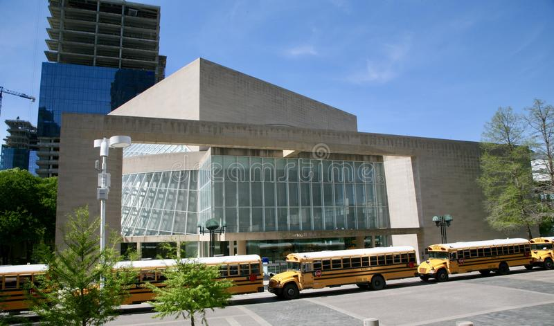 莫顿H Meyerson交响乐中心 免版税库存照片