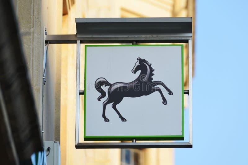 莱斯银行标志 图库摄影