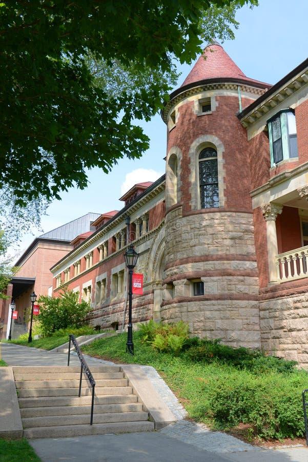 莱曼霍尔,布朗大学,上帝,罗德是 免版税库存图片