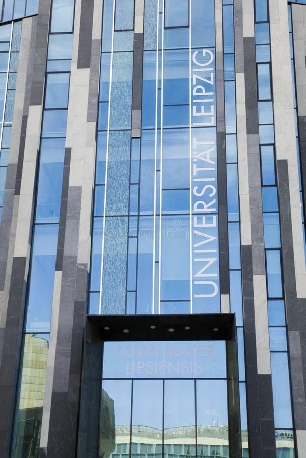 莱比锡大学 免版税图库摄影