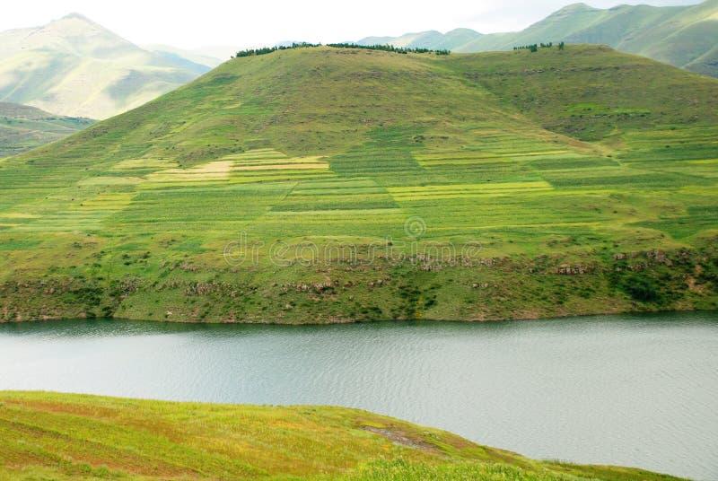 莱索托风景 图库摄影