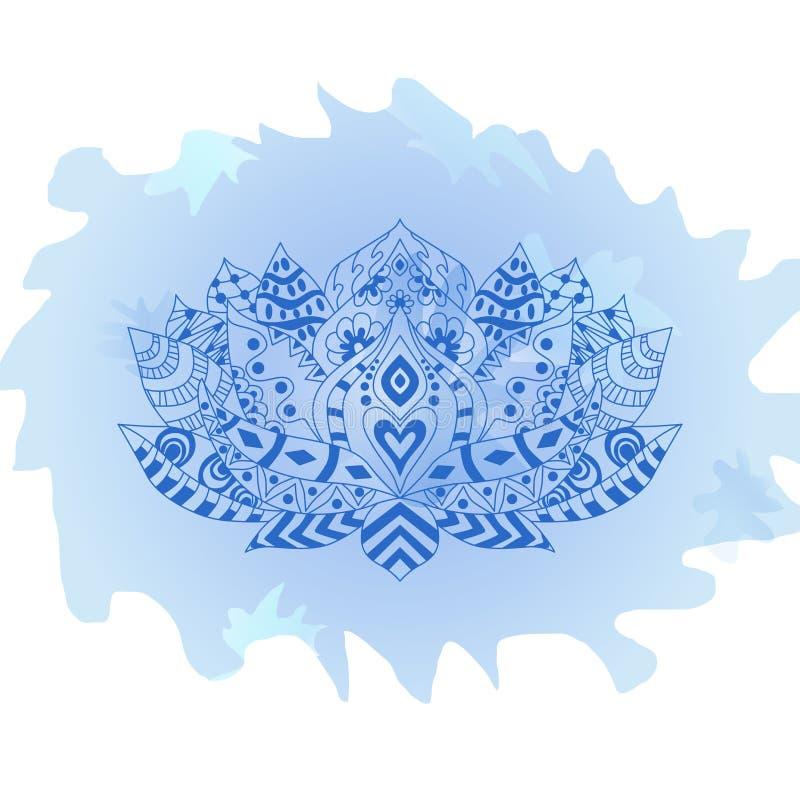 东方印地安,中国式 zentangle温泉,瑜伽演播室,t恤杉印刷品,纹身花刺