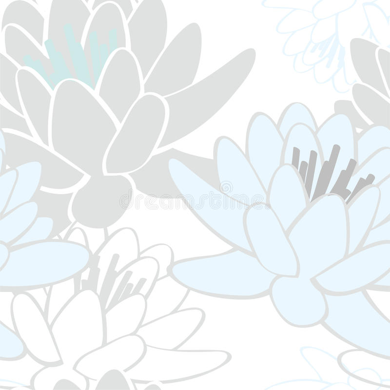 莲花模式 皇族释放例证