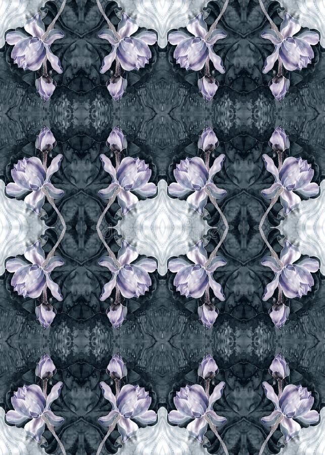 莲花 细麻花布 花,叶子,芽的装饰构成 使用铅印材料,标志,项目,网站,地图,海报, 向量例证