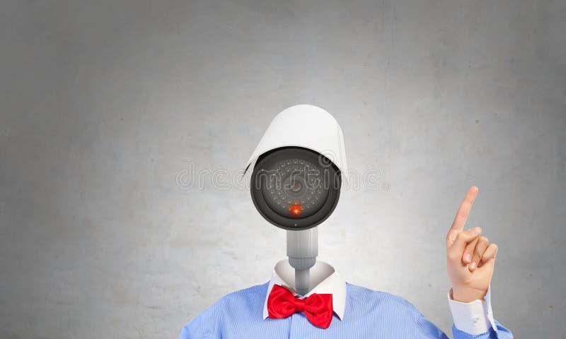 获取您的保密性 免版税图库摄影