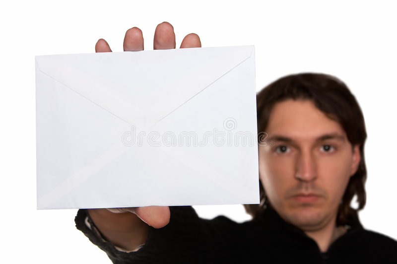 获得的邮件 免版税图库摄影