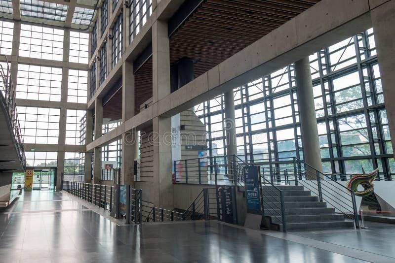 莺歌新的台北Ci的陶瓷博物馆2017 5月24日,内部  库存图片