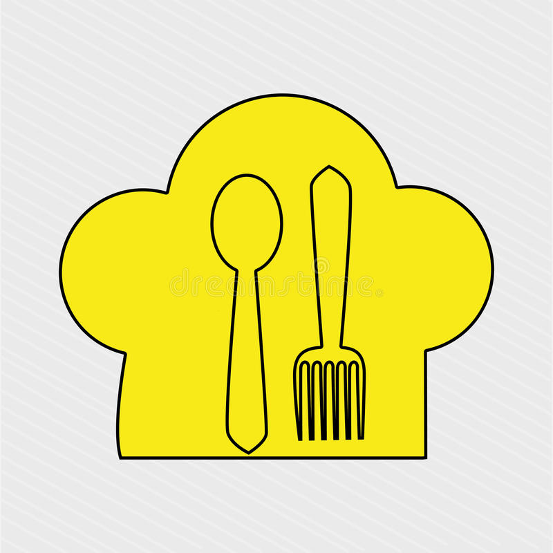 菜单象设计 皇族释放例证