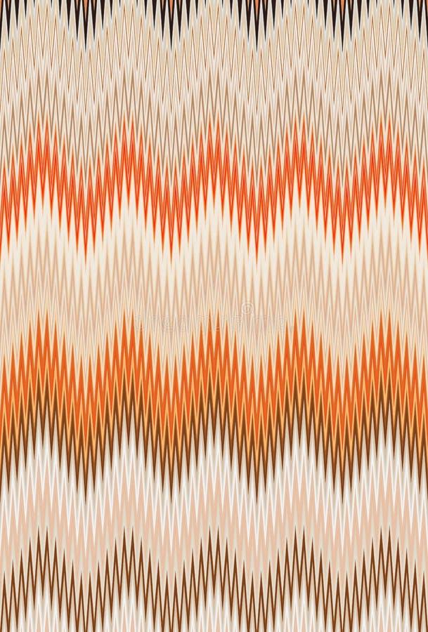 菜概念,彩虹颜色 雪佛之字形波动图式抽象派背景,趋向 皇族释放例证