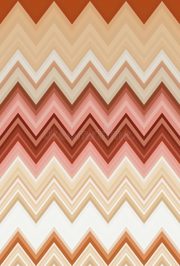 菜概念,彩虹颜色 雪佛Z形图案抽象派背景,趋向 皇族释放例证