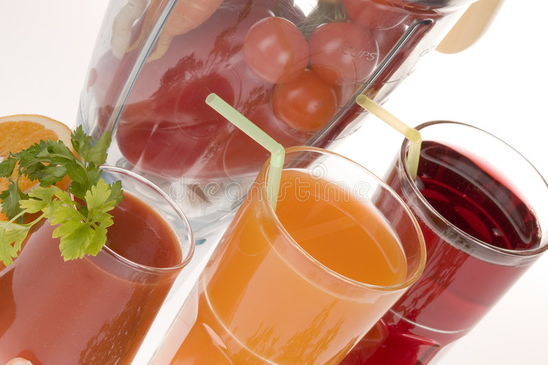 菜的果汁 免版税图库摄影