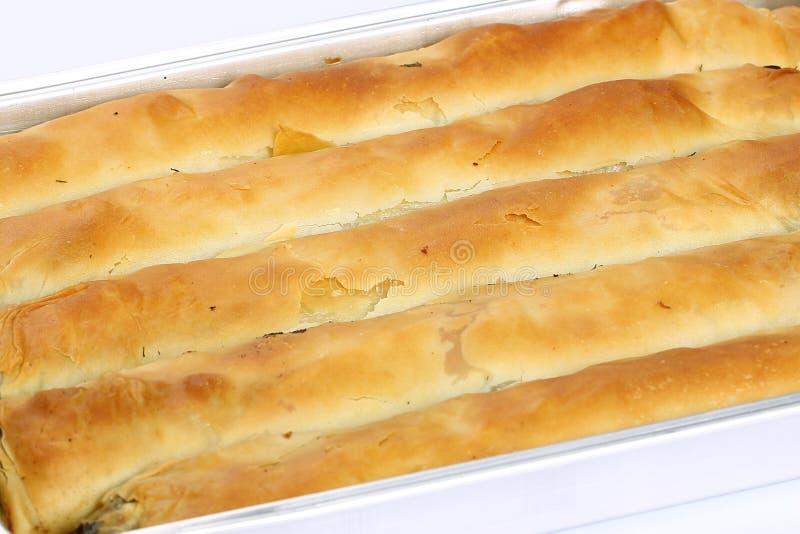 菠菜饼,柏蒂- Borek 库存照片