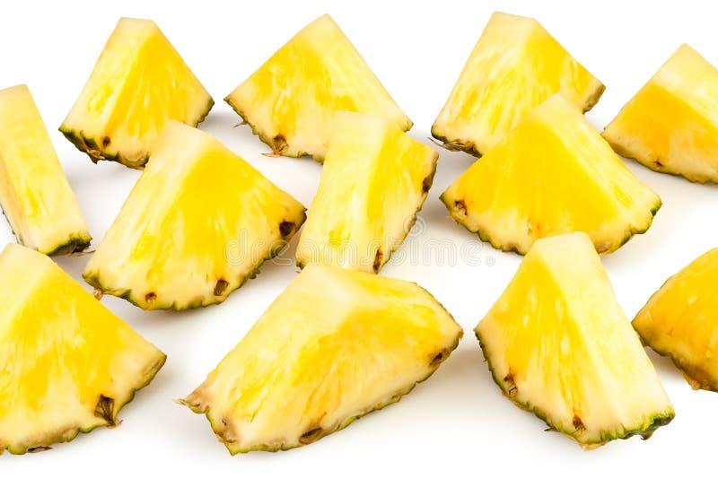菠萝大块 免版税图库摄影