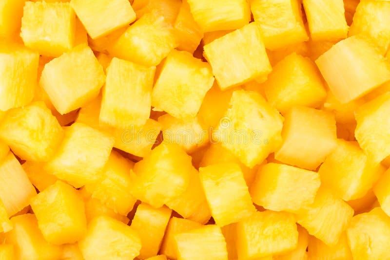 菠萝大块 免版税库存图片