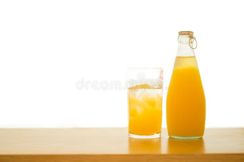 菠萝汁 库存照片