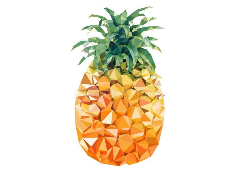 菠萝 库存例证