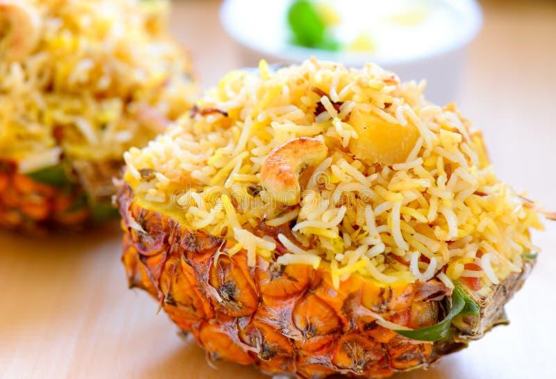菠萝Biryani 库存图片
