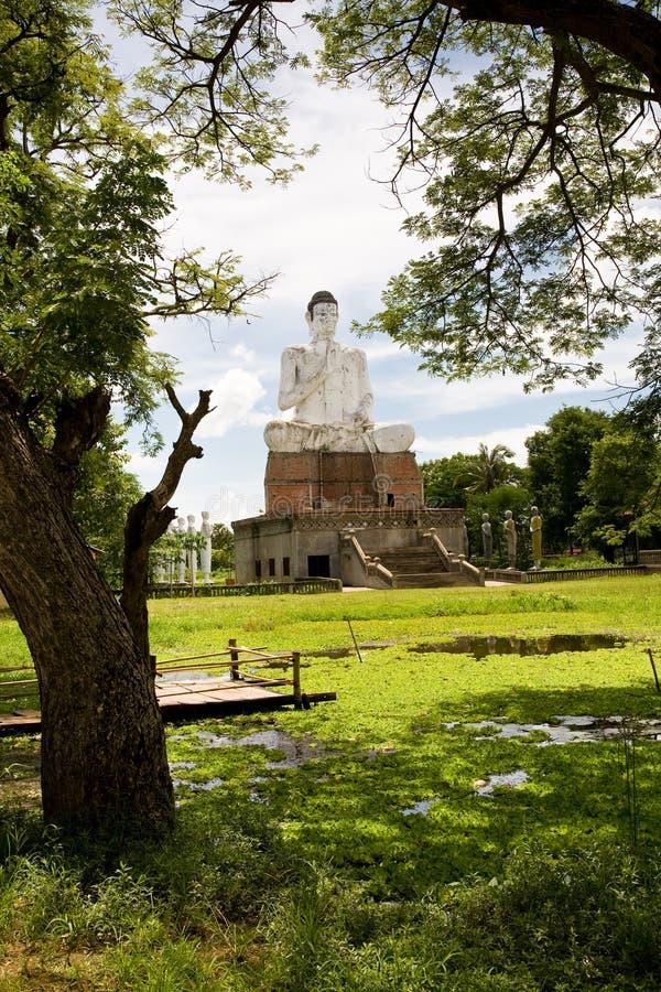 菩萨・柬埔寨ek phnom wat 图库摄影