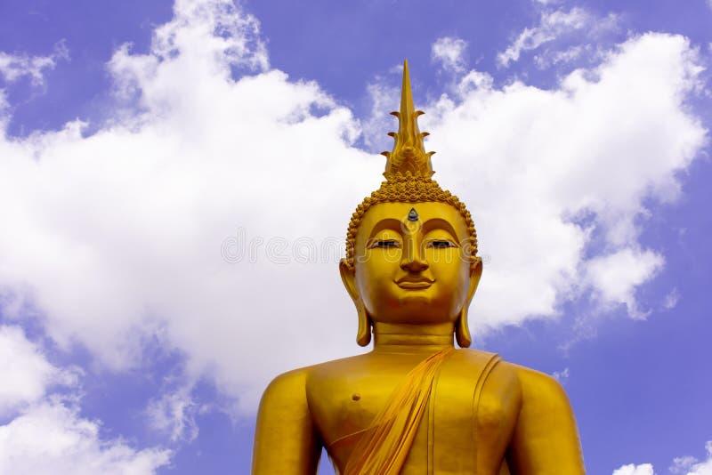 菩萨在泰国的雕象图象 免版税库存照片