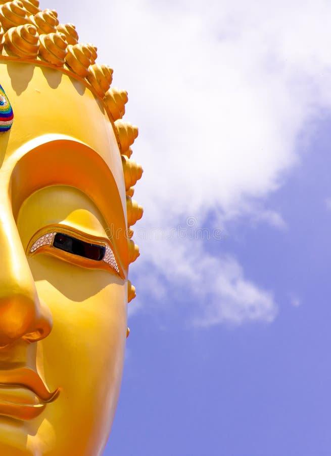 菩萨在泰国的雕象图象 库存照片