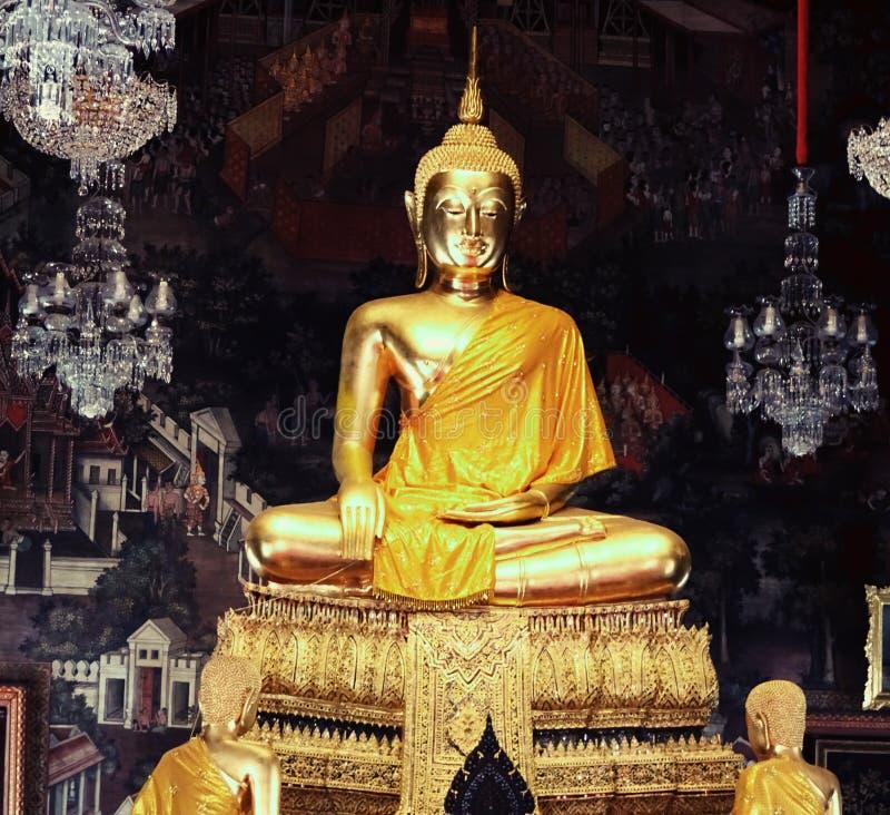 菩萨在清迈泰国 免版税库存照片