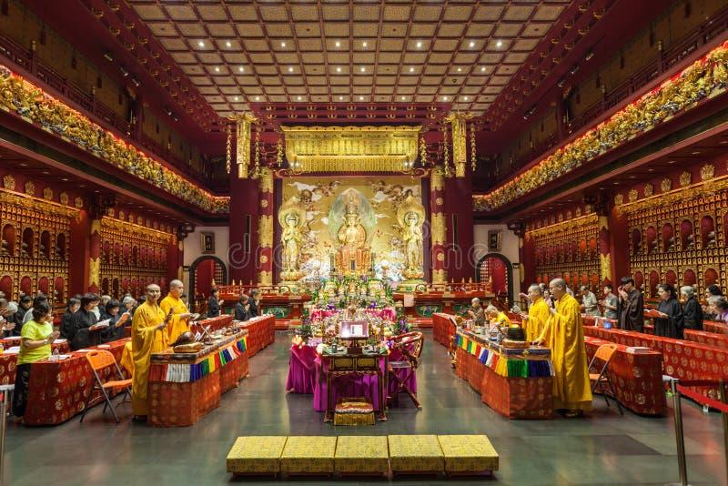 菩萨牙寺庙 免版税图库摄影