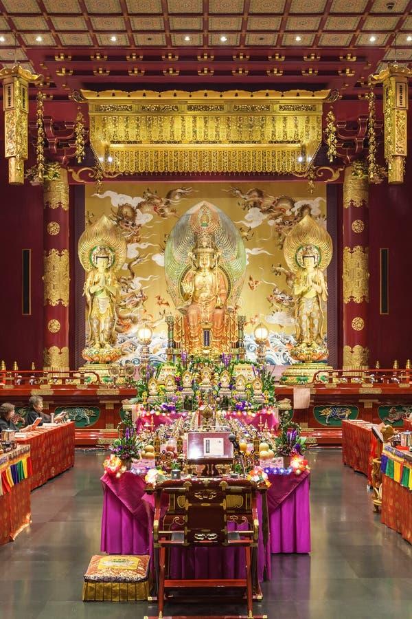 菩萨牙寺庙 图库摄影