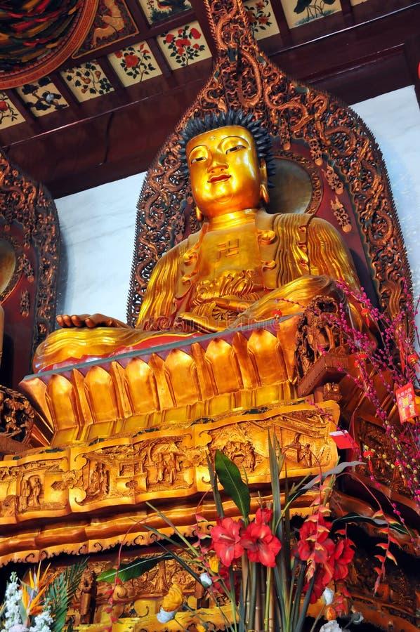 菩萨玉寺庙 库存照片