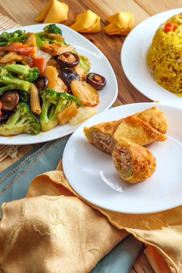 菩萨的欢欣中国菜 免版税库存图片