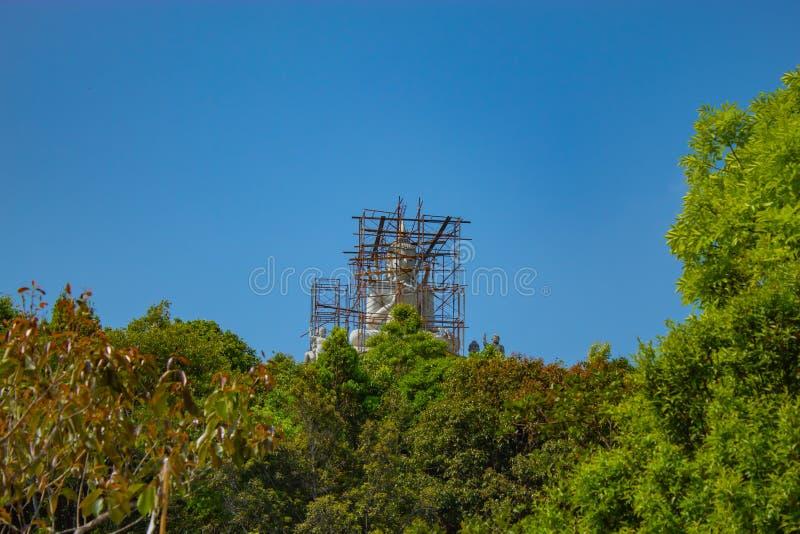 菩萨被修造Pilok寺庙是最老的临时雇员 免版税库存照片