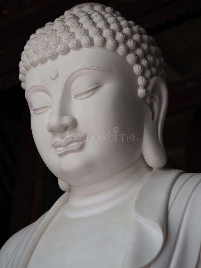 菩萨雕象,佛教宗教 免版税库存图片