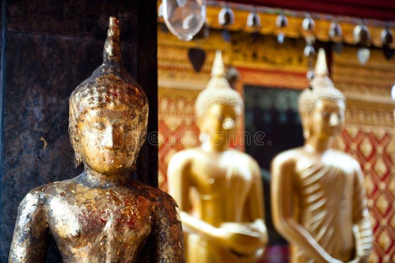 菩萨雕象,曼谷,泰国。 库存照片